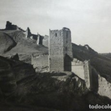 Coleccionismo: DAROCA ZARAGOZA CASTILLO LAMINA HUECOGRABADO AÑOS 40. Lote 154449414