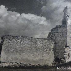 Coleccionismo: CALATRAVA LA VIEJA CIUDAD REAL CASTILLO LAMINA HUECOGRABADO AÑOS 40. Lote 154449674