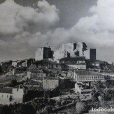 Coleccionismo: CASTRO CALDELAS LUGO CASTILLO ANTIGUA LAMINA HUECOGRABADO AÑOS 40. Lote 154544394