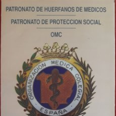 Coleccionismo: FOLLETO TRÍPTICO PATRONATO DE HUÉRFANOS DE MÉDICOS. Lote 154586168