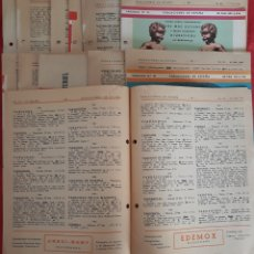 Coleccionismo: LOTE 12 FASCÍCULOS POBLACIONES DE ESPAÑA 1961. Lote 154592830