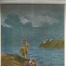 Coleccionismo: LAMINA 13019: DON QUIJOTE Y SANCHO POR SALVADOR TUSELL. Lote 154435540