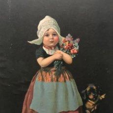 Coleccionismo: LÁMINA AMERICANA ÉPOCA EN CARTÓN DURO 22,5X29,3 CM. Lote 154789166