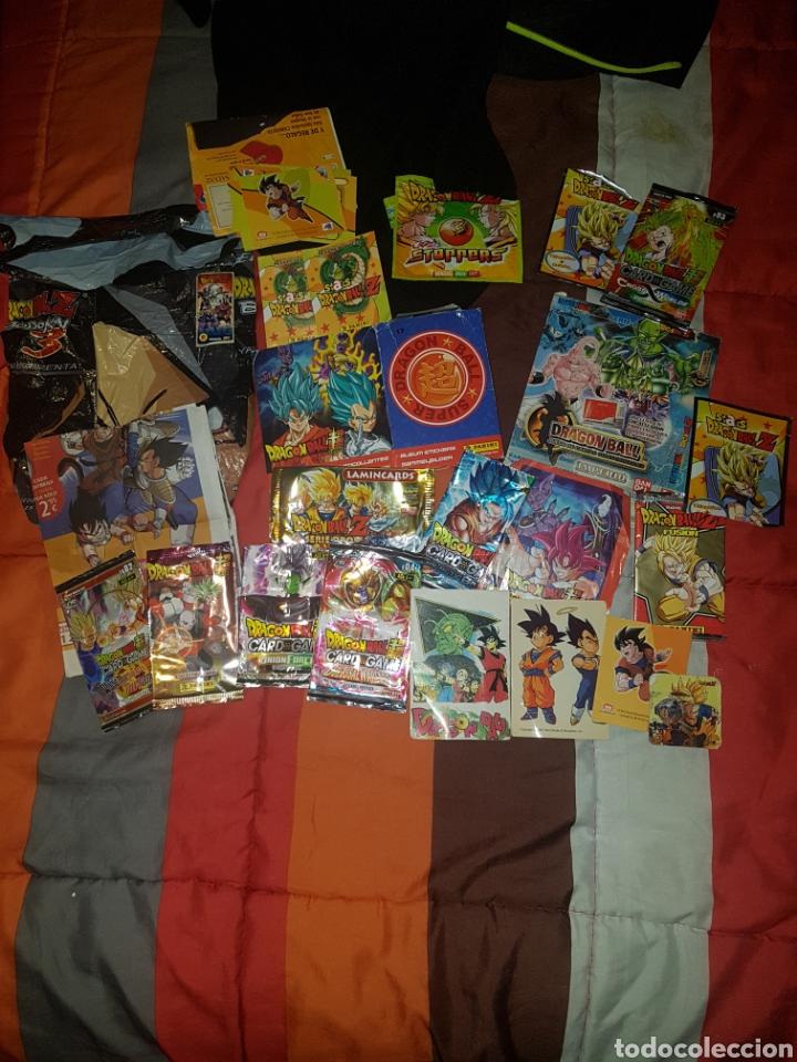 DRAGONBALL Z Y SUPER LOTE PUBLICIDAD. (Coleccionismo - Varios)