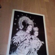 Coleccionismo: LAMINA MUY ANTIGUA DE MARIA AUXILIADORA DE CORDOBA GRAFICAS MILLA FOTO LEON. Lote 154913250