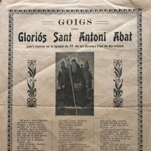 Goig del gloriós Sant Antoni Abat