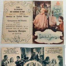 Coleccionismo: PROGRAMA DE CINE - CINE ESTRIBELA DE PONTEVEDRA. Lote 155109858