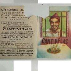 Coleccionismo: PROGRAMA DE MANO - CINE ESTRIBELA DE PONTEVEDRA - CANTINFLAS. Lote 155115034
