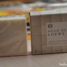 Coleccionismo: JABON PERFUMADO DE TOCADOR AGUA DE LOEWE. Lote 155147686