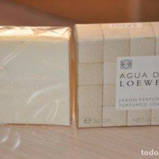 Coleccionismo: JABON PERFUMADO DE TOCADOR AGUA DE LOEWE. Lote 155147802