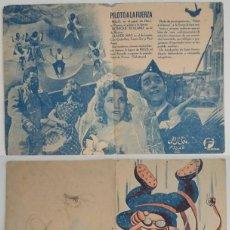 Coleccionismo: PROGRAMA DE CINE DE MANO PILOTO A LA FUERZA. Lote 155278034