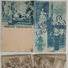 Coleccionismo: PROGRAMA DE CINE DE MANO PRINCESA TARAKANOVA. Lote 155278766