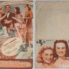 Coleccionismo: PROGRAMA DE CINE DE MANO SU ÚLTIMA DIABLURA. Lote 155279150