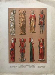 Escultura e indumentaria barcelonesa del siglo XIV 44,1x32 cm