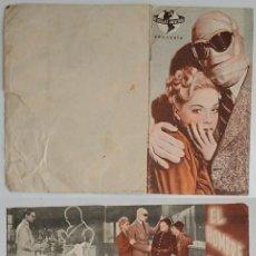 Coleccionismo: PROGRAMA DE CINE DE MANO EL HOMBRE INVISIBLE VUELVE. Lote 155280882