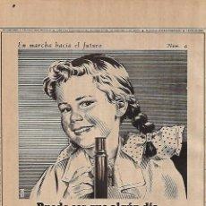Coleccionismo: AÑO 1955 RECORTE PRENSA PUBLICIDAD PRODUCTOS PHILIPS APARATOS RX. Lote 155341410