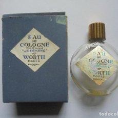 Coleccionismo: BOTELLA EAUDE COLOGNE WORTH (VACIA). Lote 155656094