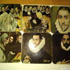 Coleccionismo: POSAVASOS DEL GRECO. Lote 155699272