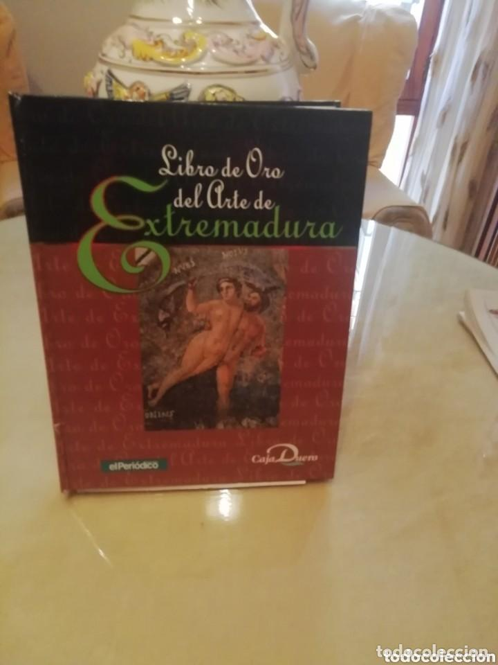 Coleccionismo: Libro de oro historia arte en Extremadura. Láminas antiguas colecc . - Foto 4 - 155707534
