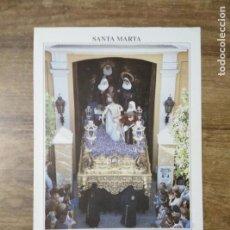 Coleccionismo: MFF.- FOLLETO RELIGIOSO. COFRADIA SANTA MARTA. PASOS. SANTISIMO CRISTO DE LA CARIDAD.-. Lote 155845010
