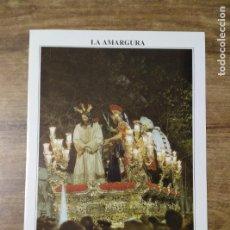 Coleccionismo: MFF.- FOLLETO RELIGIOSO. COFRADIA LA AMARGURA. PASOS. NUESTRO PADRE JESUS DEL SILENCIO EN EL . Lote 155846186