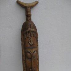 Collezionismo: MASCARA, FIGURA DE MADERA. 101CM. Lote 155849998