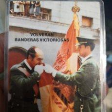 Coleccionismo: AVAL PLASTIFICADO. VOLVERÁN BANDERAS VICTORIOSAS. . Lote 155871978