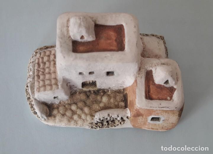 Coleccionismo: CASITA IBICENCA DE ARCILLA- - Foto 7 - 155997286