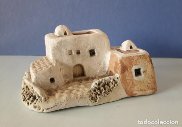 Coleccionismo: CASITA IBICENCA DE ARCILLA- - Foto 9 - 155997286