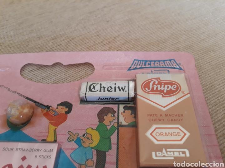 Coleccionismo: Dulcerama damel cheiw palotes snipe blister kiosco 1978 - Foto 2 - 156033697