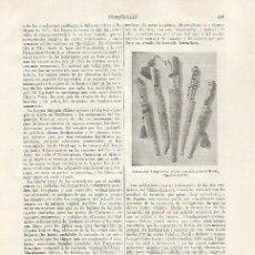 Coleccionismo: LAMINA ESPASA 31802: ARMAS DEL TURQUESTAN. Lote 156182466