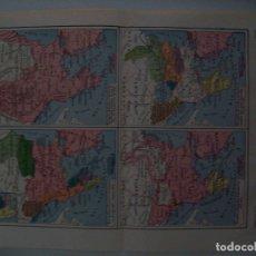 Coleccionismo: LAMINA ESPASA 31810: MAPAS HISTORICOS DE TURQUIA. Lote 156185989