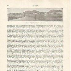 Coleccionismo: LAMINA ESPASA 31811: VISTA DE ANKARA TURQUIA. Lote 156186112