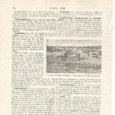 Coleccionismo: LAMINA ESPASA 31815: VISTA DE TUTRAKAN RUMANIA. Lote 156188078