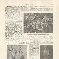 Coleccionismo: LAMINA ESPASA 31816: IMAGENES DE TUSNELDA. Lote 156188561