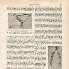 Coleccionismo: LAMINA ESPASA 31824: JOYAS DE LA TUMBA DE TUTANKAMON. Lote 156192222