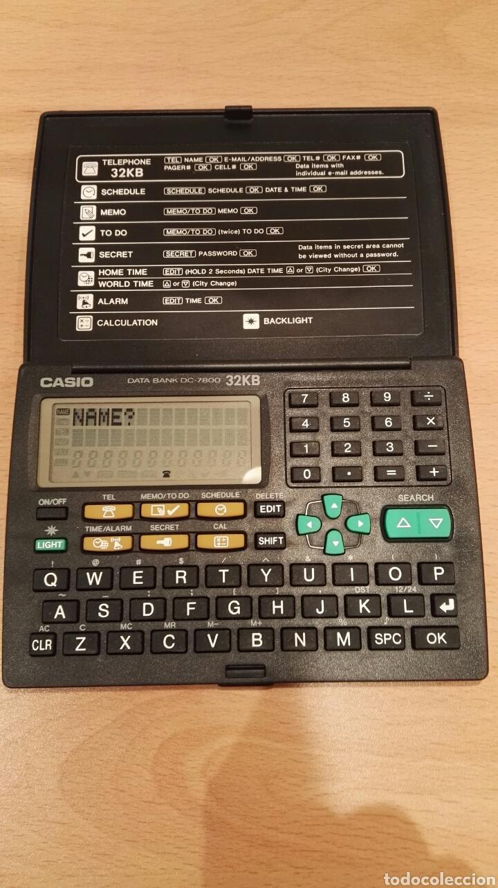 Coleccionismo: Agenda electronica Casio Data Bank DC-7800 - Foto 2 - 156537029