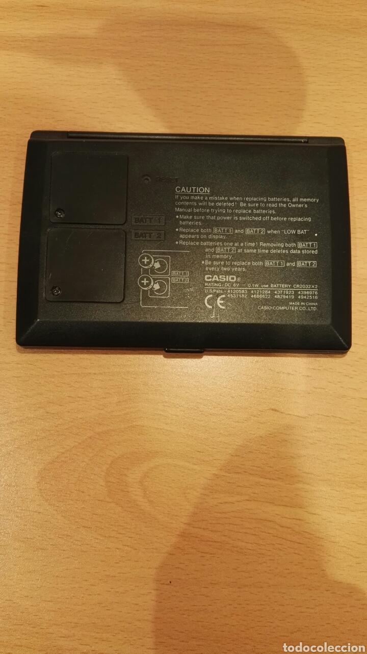 Coleccionismo: Agenda electronica Casio Data Bank DC-7800 - Foto 3 - 156537029