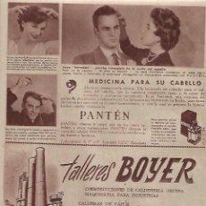 Coleccionismo: AÑO 1956 RECORTE PRENSA PUBLICIDAD TALLERES BOYER MADRID CALDERAS DE VAPOR. Lote 156562486