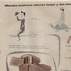 Coleccionismo: AÑO 1956 RECORTE PRENSA PUBLICIDAD CALCULICE REPRODUCTORA MULTICOPISTA OLPER. Lote 156562754