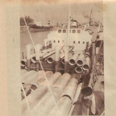 Coleccionismo: AÑO 1956 RECORTE PRENSA PUBLICIDAD ENTRECANALES Y TAVORA OBRAS Y PROYECTOS. Lote 156563802