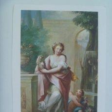 Coleccionismo: LAMINA DE PINTURA DE MAELLA : LA PRIMAVERA, MUSEO DEL PRADO, REGALO LABORATORIOS MORGENS..16 X 24 CM. Lote 156761794