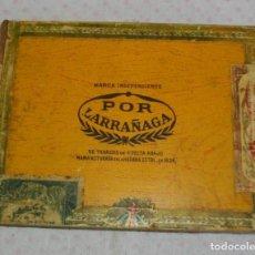 Coleccionismo: CAJA DE PUROS HABANOS POR LARRAÑAGA (( VACIA ))) ( 25 PENETELAS DE PRE - REBOLUCION. Lote 156796694