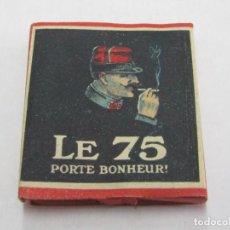 Coleccionismo: PAPEL DE FUMAR LE 75 1ª GUERRA MUNDIAL FRANCIA.. Lote 157242746