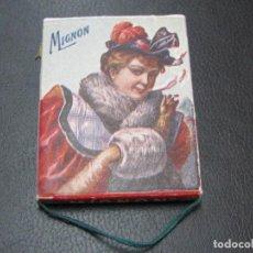 Coleccionismo: LIBRILLO DE PAPEL DE FUMAR - MIGNON - AUSTRIA - AÑO 1917 - . Lote 157243794
