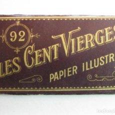 Coleccionismo: PAPEL DE FUMAR LES CENT VIERGES N.92 . AÑOS 1900,S PAPEL ILUSTRADO. Lote 157244578