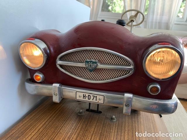 Coleccionismo: ANTIGUO COCHE DE PRACTICAS DE AUTO ESCUELA DE LA MARCA ALEMANA HOHM - FUNCIONA A 220V - VER VIDEOS - - Foto 14 - 157894730