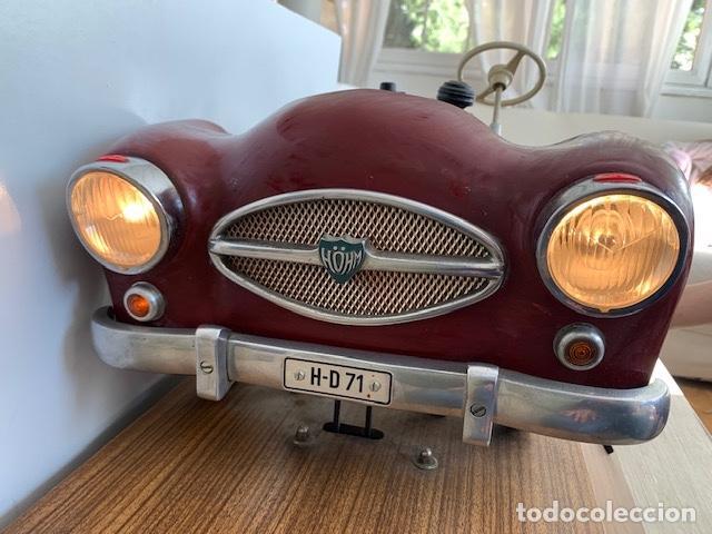 Coleccionismo: ANTIGUO COCHE DE PRACTICAS DE AUTO ESCUELA DE LA MARCA ALEMANA HOHM - FUNCIONA A 220V - VER VIDEOS - - Foto 15 - 157894730