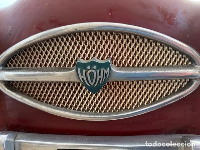 Coleccionismo: ANTIGUO COCHE DE PRACTICAS DE AUTO ESCUELA DE LA MARCA ALEMANA HOHM - FUNCIONA A 220V - VER VIDEOS - - Foto 16 - 157894730