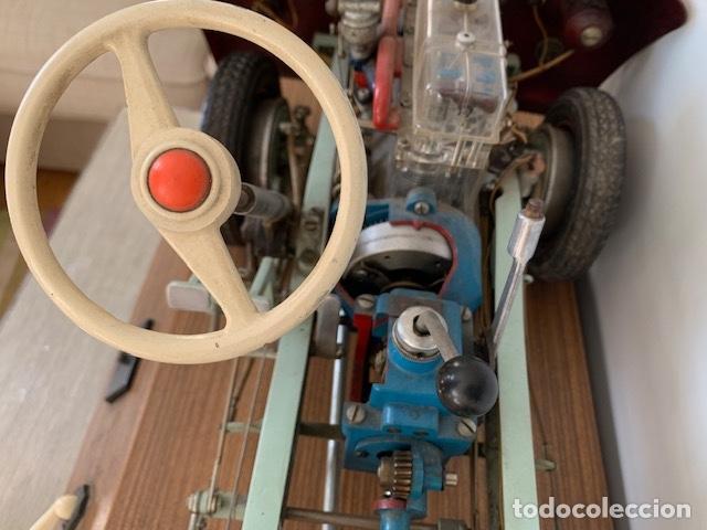 Coleccionismo: ANTIGUO COCHE DE PRACTICAS DE AUTO ESCUELA DE LA MARCA ALEMANA HOHM - FUNCIONA A 220V - VER VIDEOS - - Foto 18 - 157894730